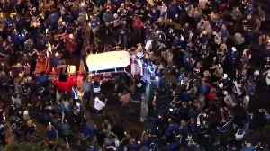 Blues Fans Rock Golf Cart During Wild Stanley Cup Celebrations [Video]