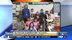 Good morning from Glyndon Elementary School! [Video]