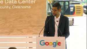 Watch: Google officials announce $600 million expansion in Pryor data center [Video]