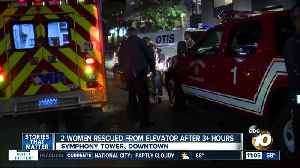 2 women rescued from San Diego elevator after three hours [Video]