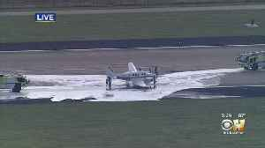Small Plane Makes Emergency Landing At Fort Worth Alliance Airport [Video]
