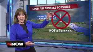 Geeking Out: Jesse Ritka talks about cold air funnels [Video]