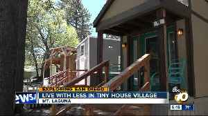 Exploring San Diego: Live with less in tiny house village [Video]