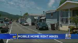 Residents Of Marin County Mobile Home Park Panicking Over Rent Increases [Video]