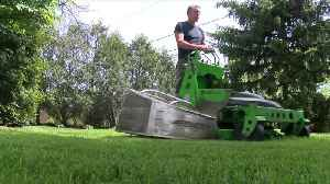 His environmentally friendly lawn service called The GreenerWe is all electric [Video]