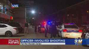 Police In Dallas Investigating Officer-Involved Shooting By Farmers Branch Officer [Video]