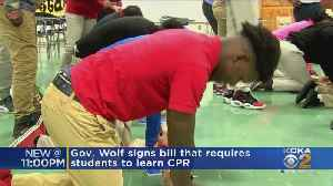 Pennsylvania Governor Signs Law Requiring CPR Education [Video]