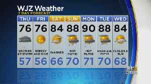 Bob Turk Has The Last Look At Your Wednesday Night Forecast [Video]