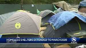 Santa Cruz temporary shelters to remain open until 2020 [Video]