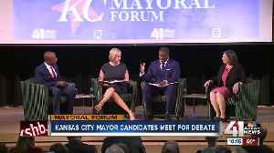 News video: Mayoral candidates share hope for KC's future at final public forum