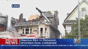 5 Hurt In Midwood Fire [Video]