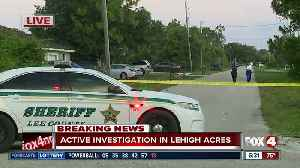 Deputies investigating scene off Gregory Avenue in Lehigh Acres [Video]