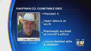 Kaufman County Constable Dies After Heart Attack While At Work [Video]