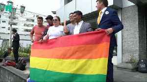 News video: Ecuador Legalises Same-Sex Marriage