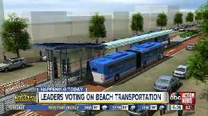 St. Bete Beach leaders to vote on proposed PSTA Bus Rapid Transit to beaches [Video]