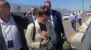 Amanda Knox in Italy for first time since acquittal [Video]