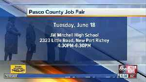 Pasco Community Job Fair to be held June 18 in New Port Richey [Video]