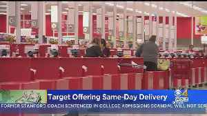 Target Offering Same-Day Delivery [Video]