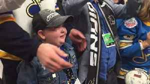 News video: Laila Anderson Celebrates With The Stanley Cup
