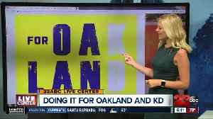Fans will get special KD 'rally towels' at Oracle [Video]