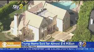 News video: President Trump's Beverly Hills Mansion Sold Quietly For $14 Million