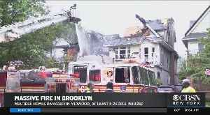 More Than A Dozen Hurt In Midwood Fire [Video]