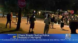 News video: Memphis Police Protests Erupt In Chaos