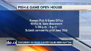 Fish & Game open house on mule deer [Video]