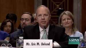 News video: Trump Reportedly Picks Eric Ueland To Lead White House Legislative Affairs