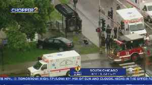 Crash At CTA Bus Stop On South Side [Video]