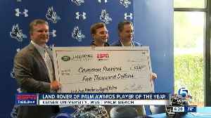 Martin Co. lacrosse player awarded $5,000 scholarship [Video]