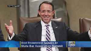 Fmr. Deputy AG Rosenstein Speaks At Md. State Bar Association Summit [Video]