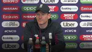 Eoin Morgan: Wood doubtful for West Indies clash [Video]