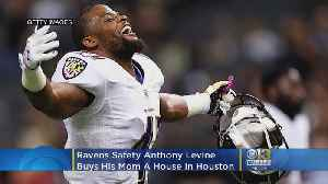 Baltimore Ravens Safety Anthony Levine Buys Mom A House [Video]