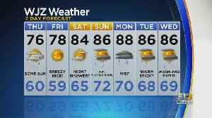 Marty Bass Has Your Thursday Afternoon Forecast [Video]