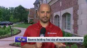 NFL Network's Mike Garafolo: Baltimore Ravens quarterback Lamar Jackson has been 'up and down' throughout Ravens minicamp [Video]