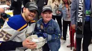 Eleven-year-old super fan shares Stanley Cup win [Video]