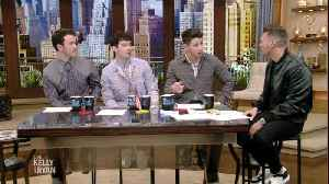 The Jonas Brothers Talk Sports with Ryan [Video]