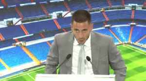 Hazard's first words as a Real player [Video]