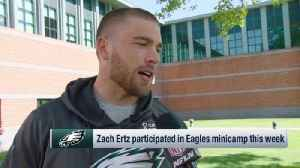 Tight end Zach Ertz on Philadelphia Eagles' offensive potential: We could be 'special' [Video]