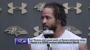 Safety Earl Thomas: Baltimore Ravens' defensive scheme more 'complex' than Seattle Seahawks' [Video]