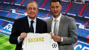 Belgian star Eden Hazard unveiled as Real Madrid player [Video]