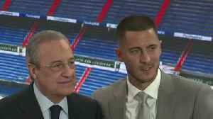 Eden Hazard: I want to win lots of trophies with Real Madrid [Video]