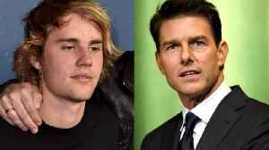 News video: Justin Bieber Says He Wasn't Serious About Fighting Tom Cruise