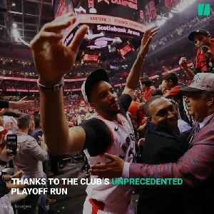 Toronto Raptors Playoff Run Unites Both Americans And Canadians [Video]