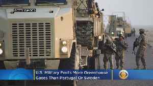 News video: Study: U.S. Military Emits More Greenhouse Gases Than Portugal Or Sweden