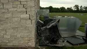 Driver Dies After Crashing Car into Side of Wisconsin Church [Video]
