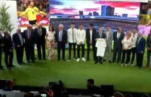 News video: Real Madrid unveil Hazard, the club's latest 'galactico'