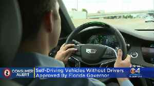 Gov. DeSantis Signs Bill That Allows Self-Driving Cars To Operate In Florida [Video]