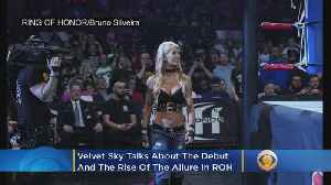 News video: Velvet Sky And The Allure Of Ring Of Honor